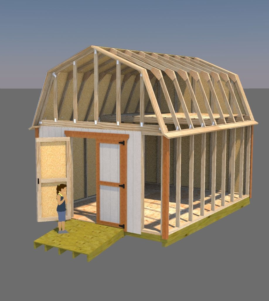 Build Your Shed Doors So They Don't Sag! Here's A Complete