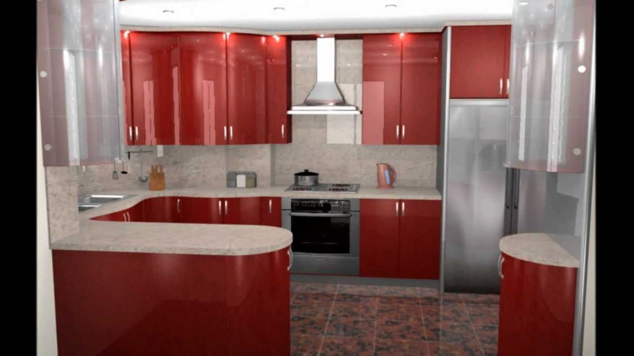 Ultra modern free small kitchen design free ideas for for Modern kitchen cabinets for small kitchens