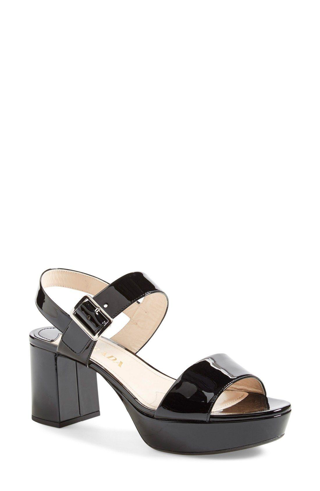 Prada Block heel sandals 3gkYdiT8