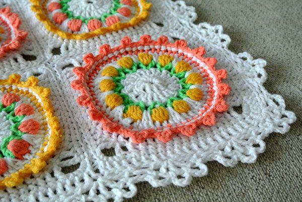 Tulip Field Blanket Tutorial | Beautiful Crochet Stuff