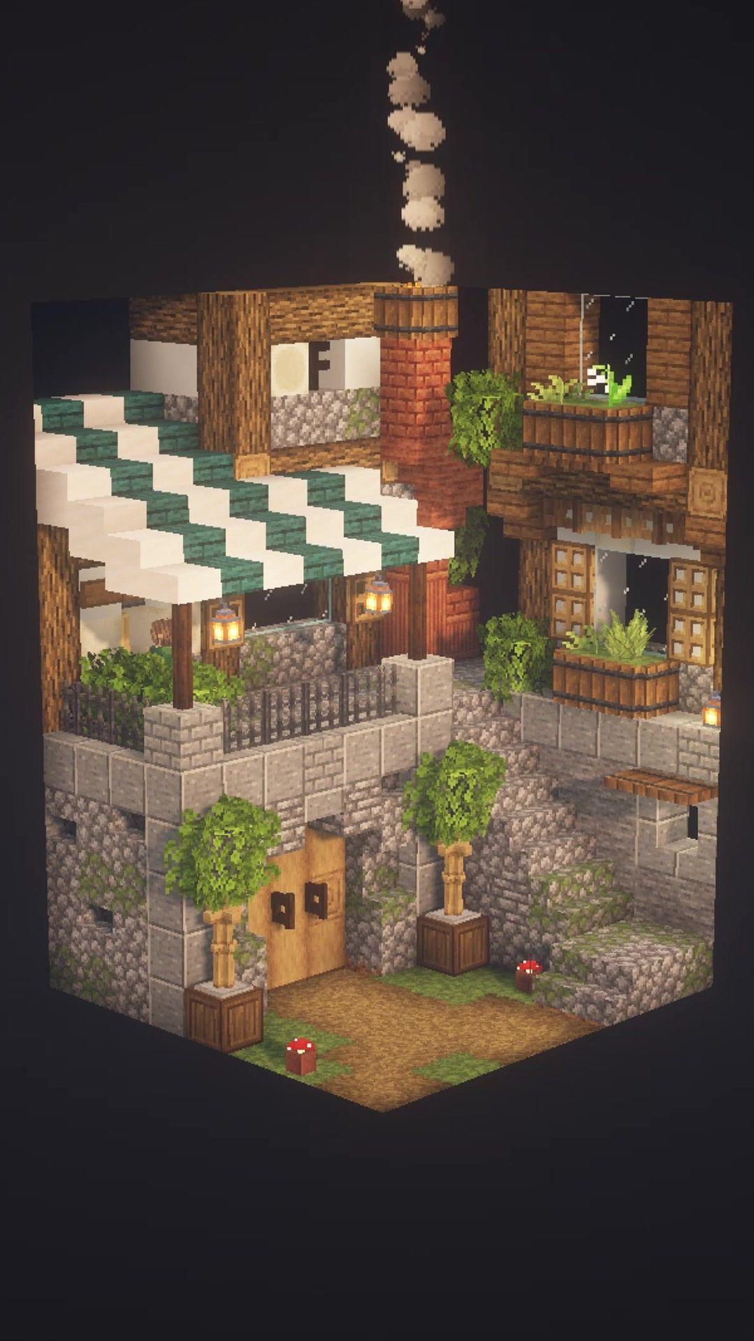 Fresh Joy Fresh Joy Tiktok Watch Fresh Joy S Newest Tiktok Videos In 2021 Minecraft Architecture Minecraft Houses Cute Minecraft Houses