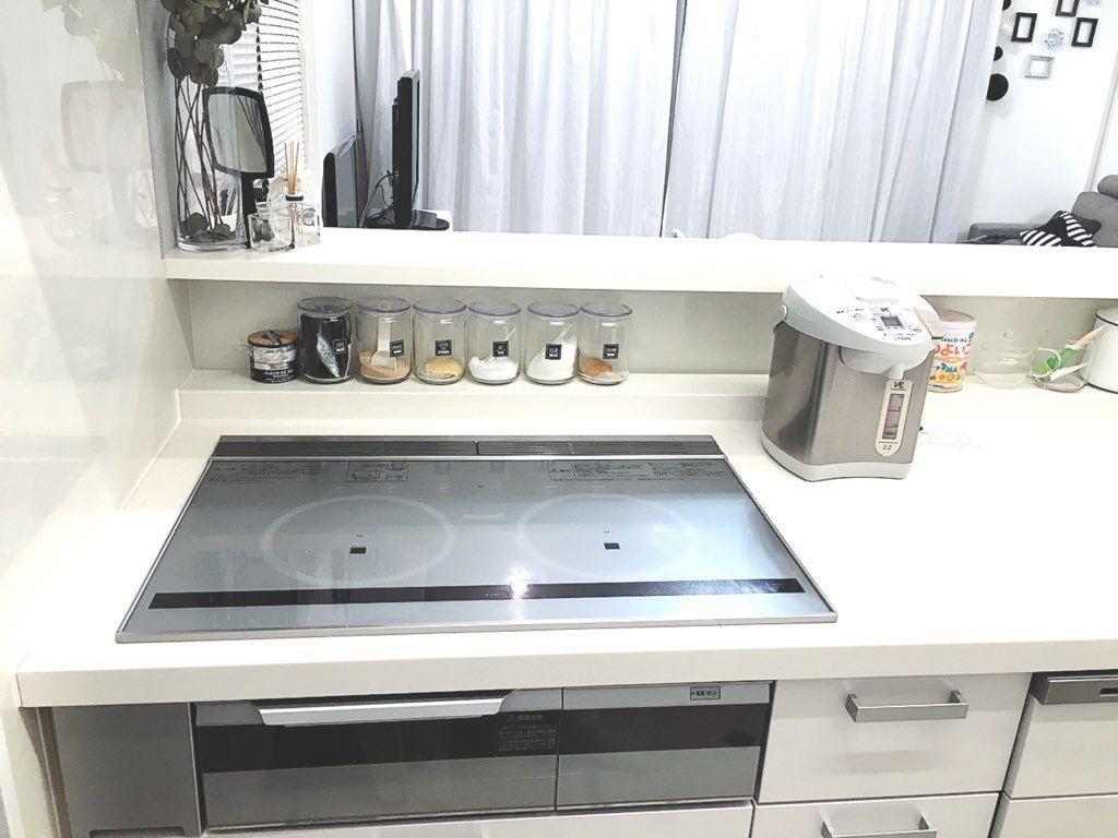 キッチン収納 スパイスニッチ キッチンニッチ が便利 高さにあった