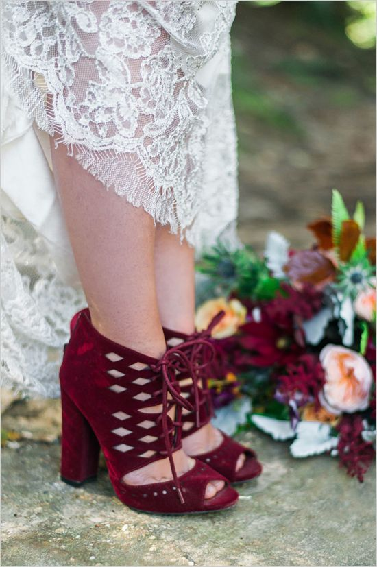 8f08fef870eb77  weddingshoes  maroonshoes  weddingchicks.  weddingshoes  maroonshoes   weddingchicks Boho Wedding Shoes