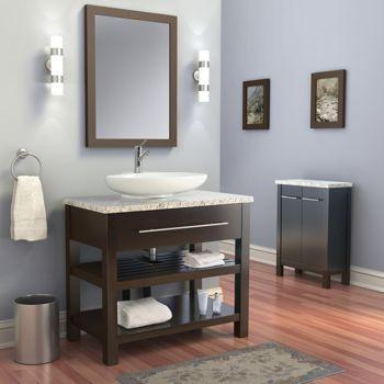 22 Deep Today S Bath Sine 36 Vanity Contemporary Bathroom