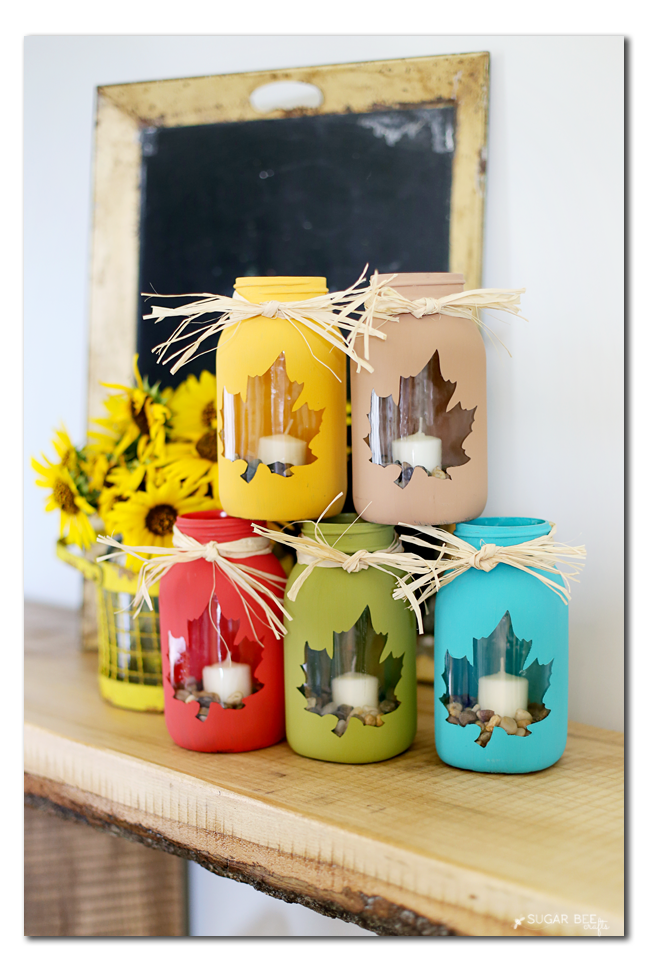 Mason Jar Diy Craft Ideas Decor Projects For The Fall Best Of