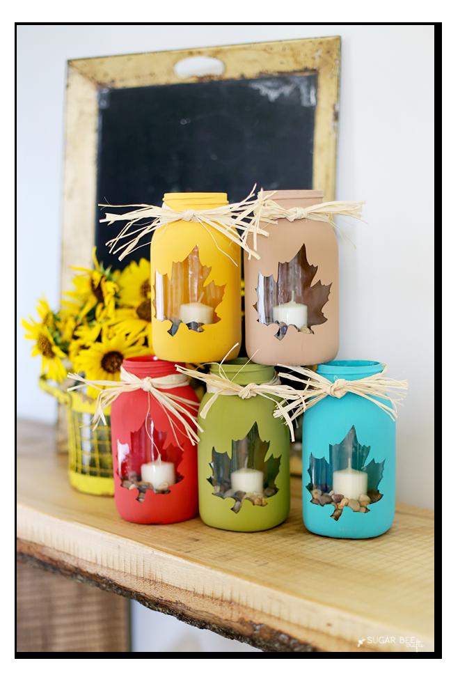 Decorated Mason Jars For Sale 50 Crafts For Girls To Make And Sell  Fall Mason Jars Mason Jar
