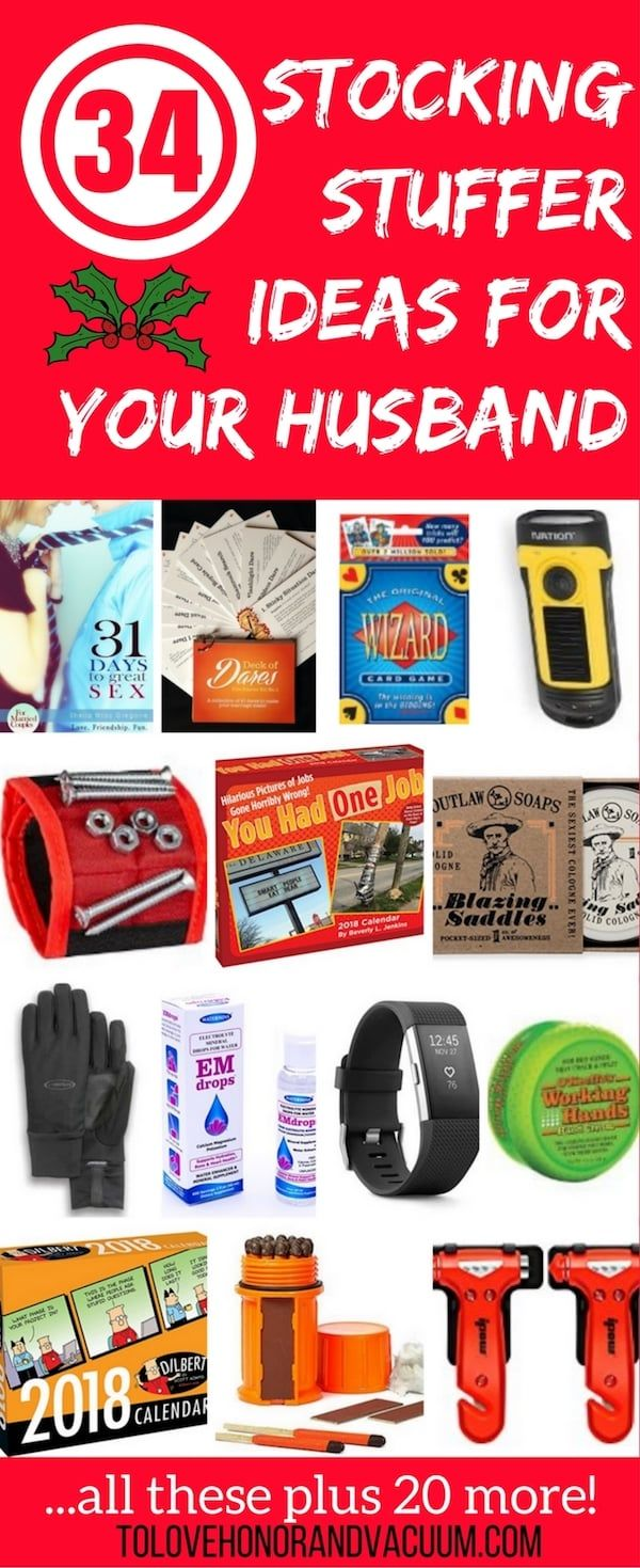 Stocking Stuffers for Your Husband: 34 Out-of-the-Box Ideas!