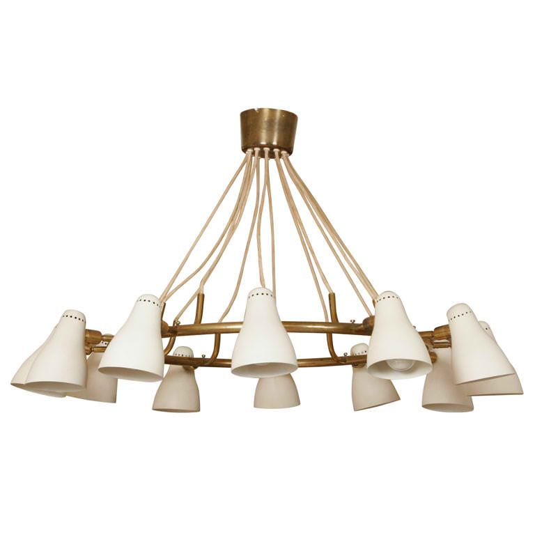 Oluce chandelier | Chandeliers, Lights and Pendant lighting