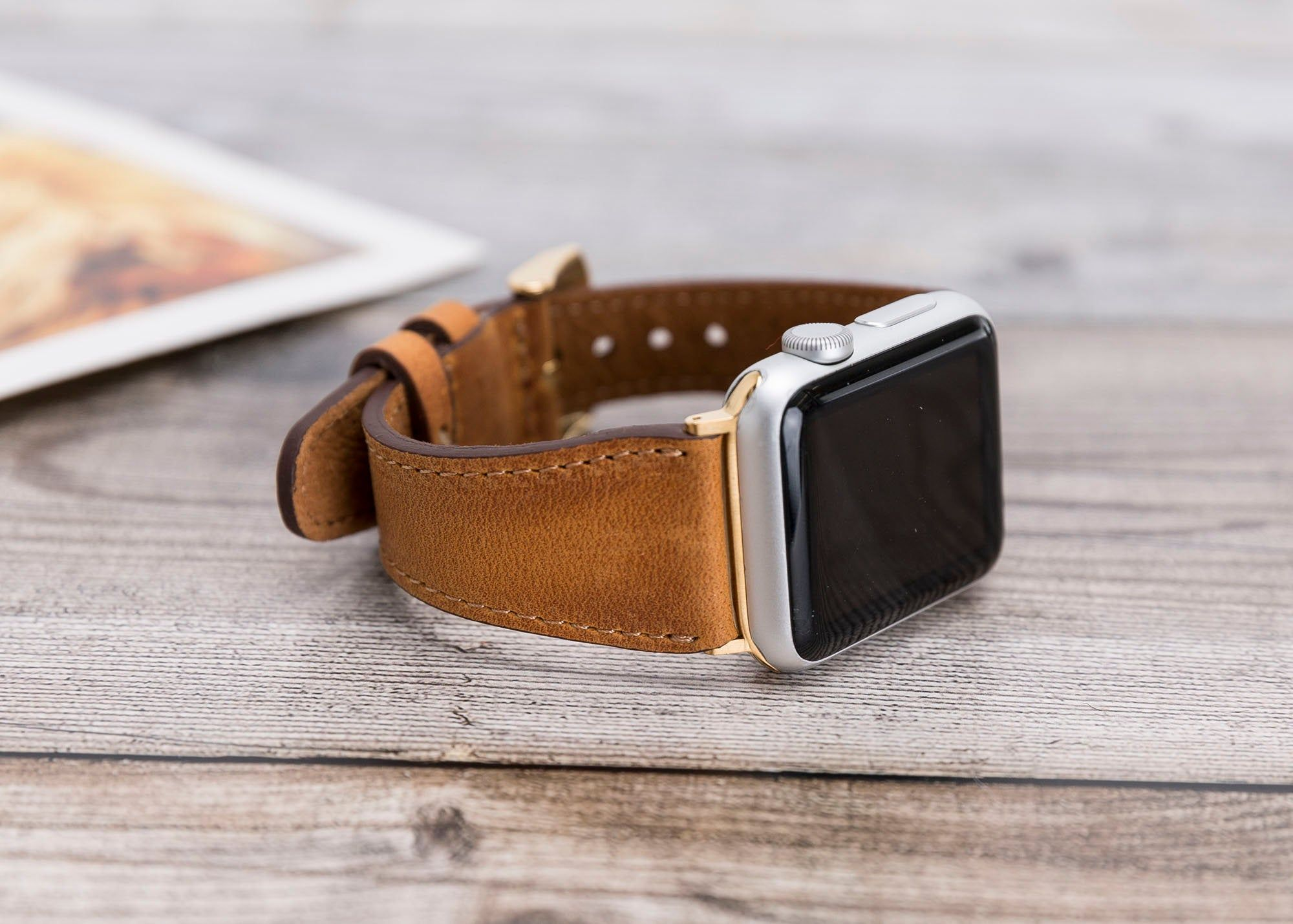 Leather Apple Watch Band 38mm 40mm Women Apple Watch Straps Etsy Apple Watch Bands Leather 38mm Apple Watch Band Apple Watch Bands