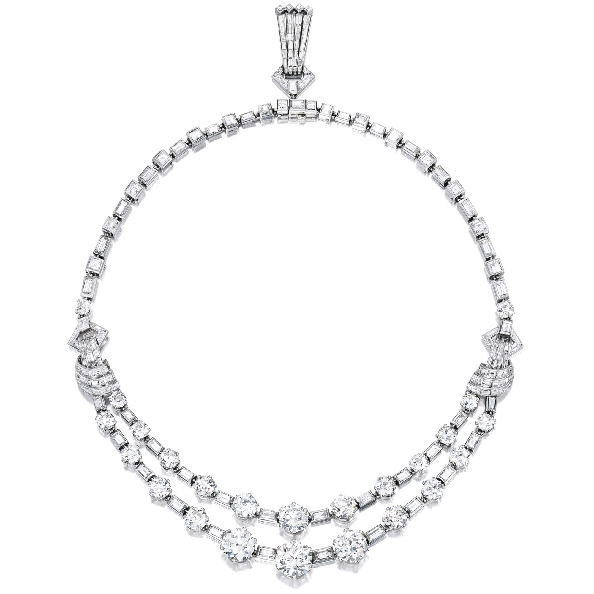 products necklace diamond multi by baguette llc atheria necklaces jewelry