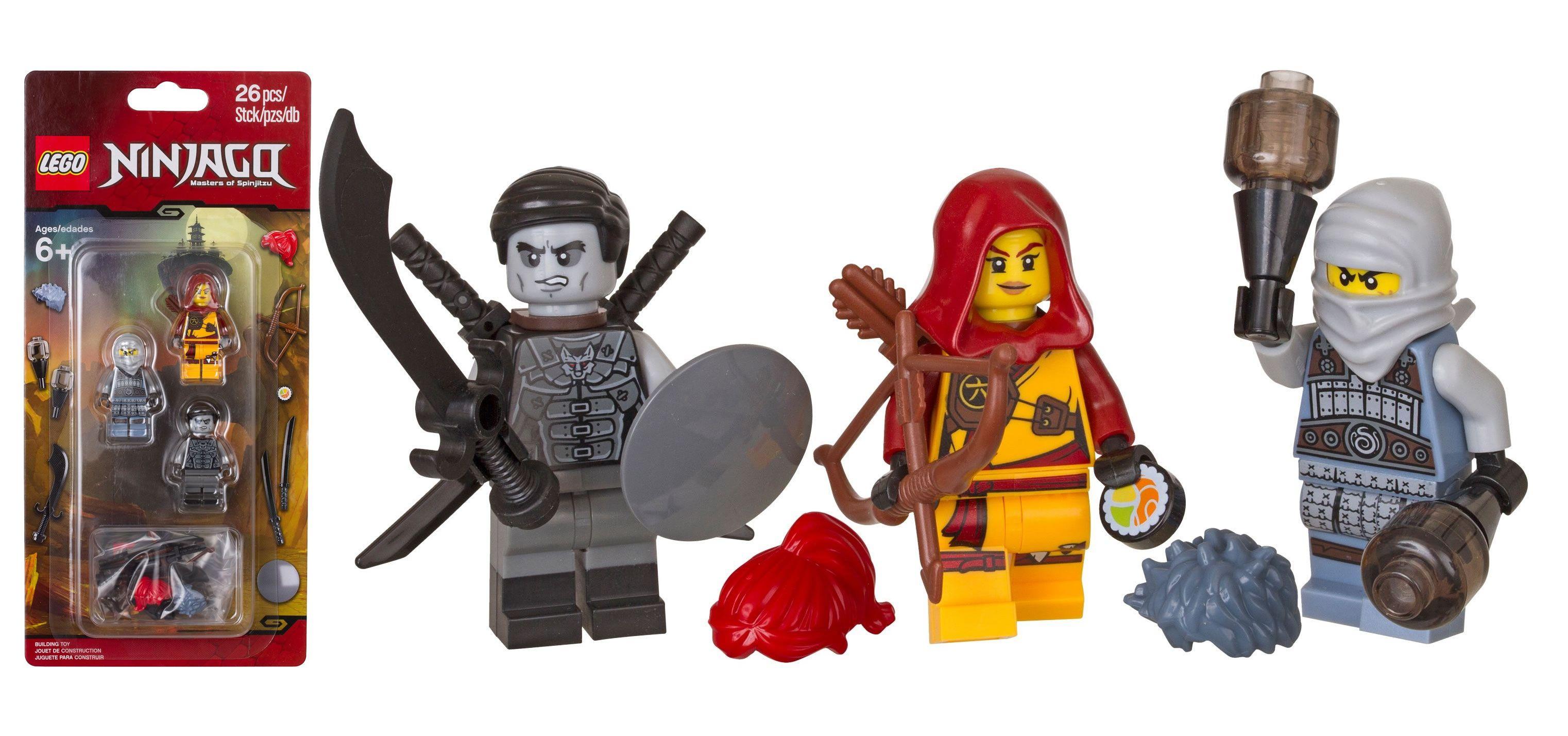 En mars 853687 lego ninjago accessory pack avec skylor shade et ash d s le 1er mars prochain - Lego ninjago saison 7 ...
