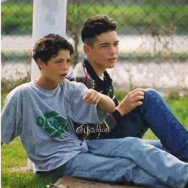 Cristiano Ronaldo with his friend Arthur | Cris Ronaldo
