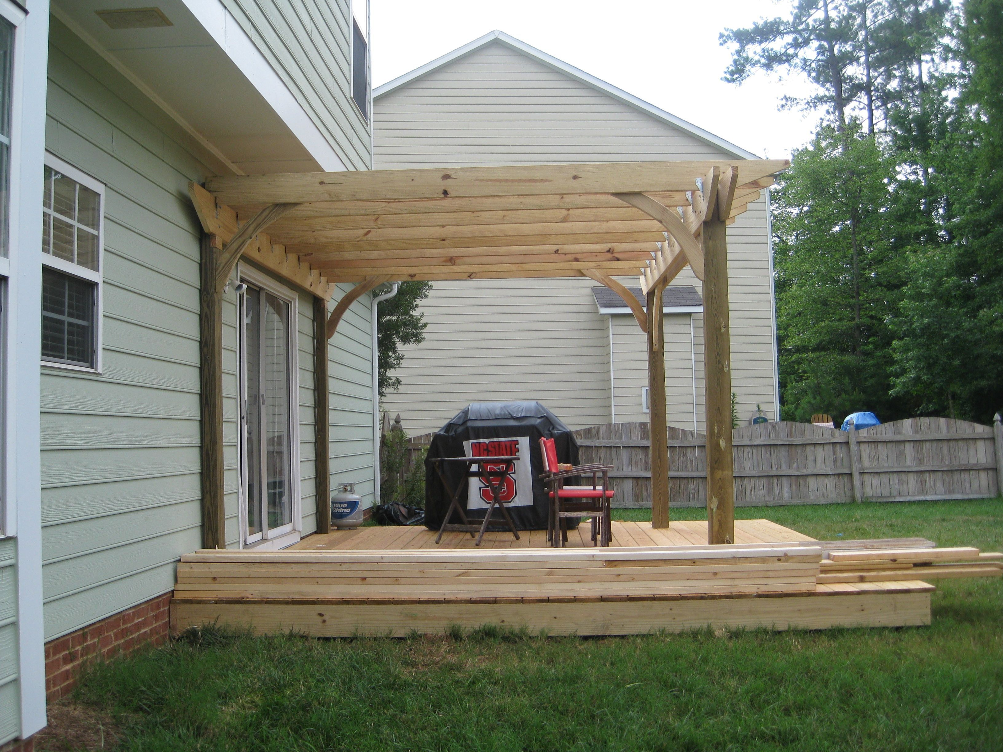 4Th Of July Family Projectbuilding A Pergola