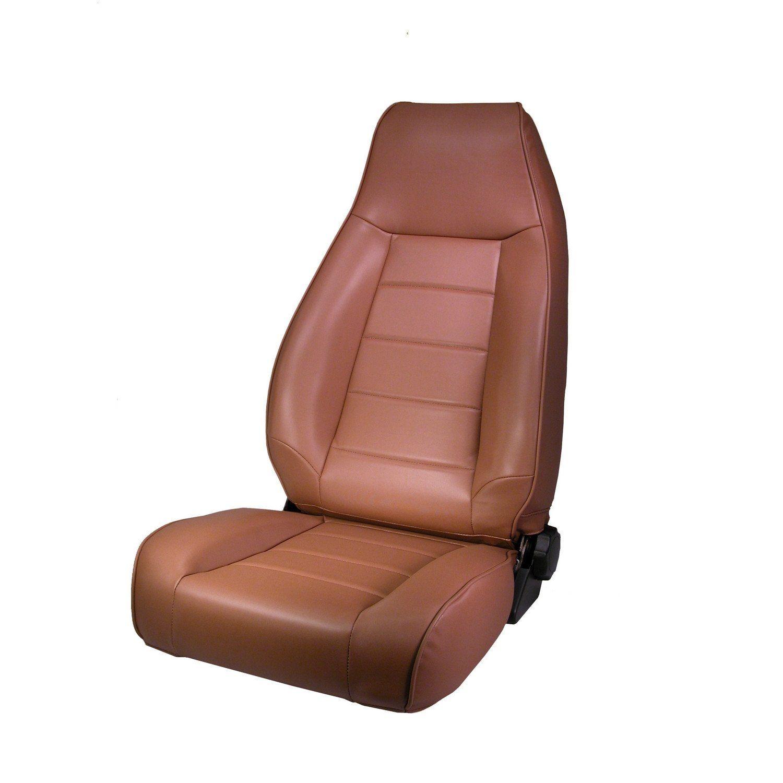 High Back Front Seat Reclinable Spice By Rugged Ridge 76 02 Jeep Wrangler Cj Yj Tj Jeep Cj Jeep Jeep Accessories