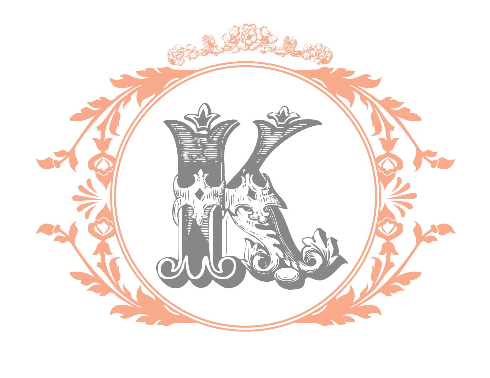 Vintage Key Free Printable Wedding Momogram   Monogram maker, Free ...