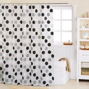 A Round Black/White PEVA Shower Curtain by MAYTEX, http://www.amazon.com/dp/B006AZCOZI/ref=cm_sw_r_pi_dp_T9Kpsb1DDXPAY