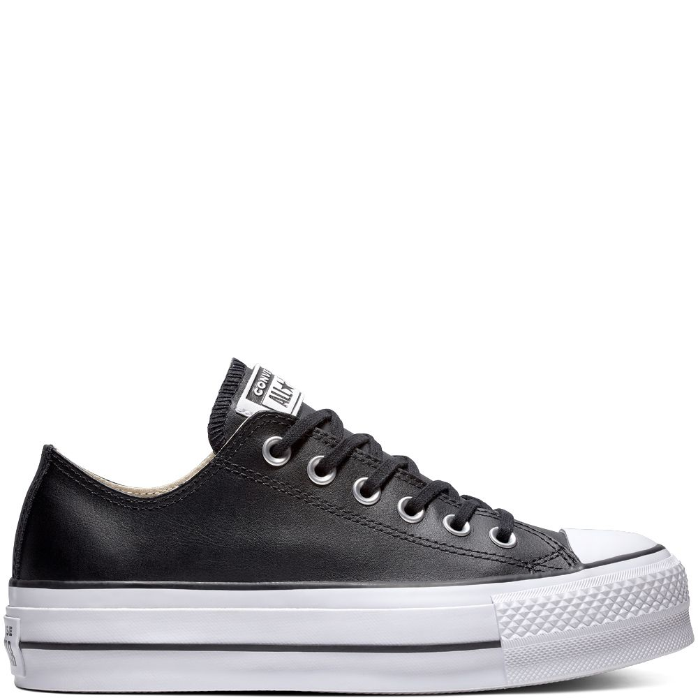 Chuck Taylor All Star Lift Clean Leather Low Top | Chuck ...