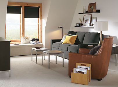 Tyler Modern Storage Ottomans - Modern Benches & Stools - Modern Bedroom Furniture - Room & Board