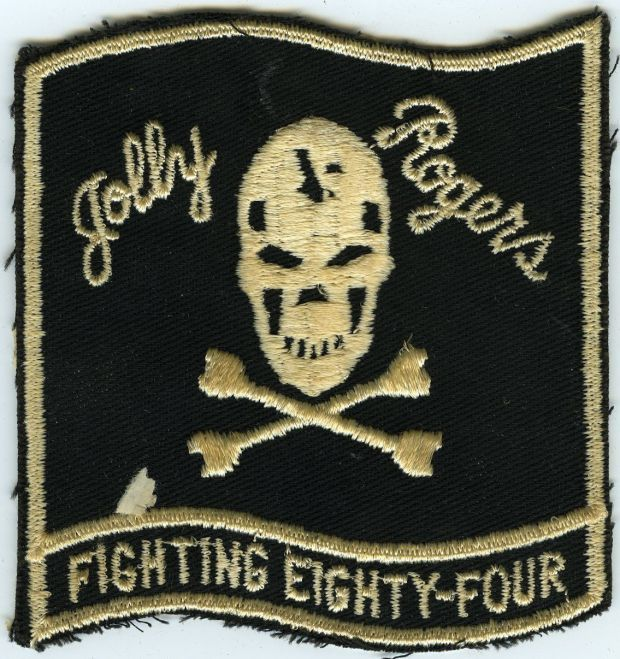 Jolly Rodgers Fighting Eighty-Four Patch front