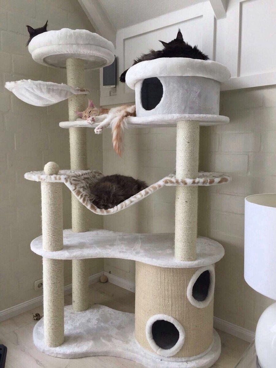 Arranhador Gato Trono De Ferro Creature Comforts Diy
