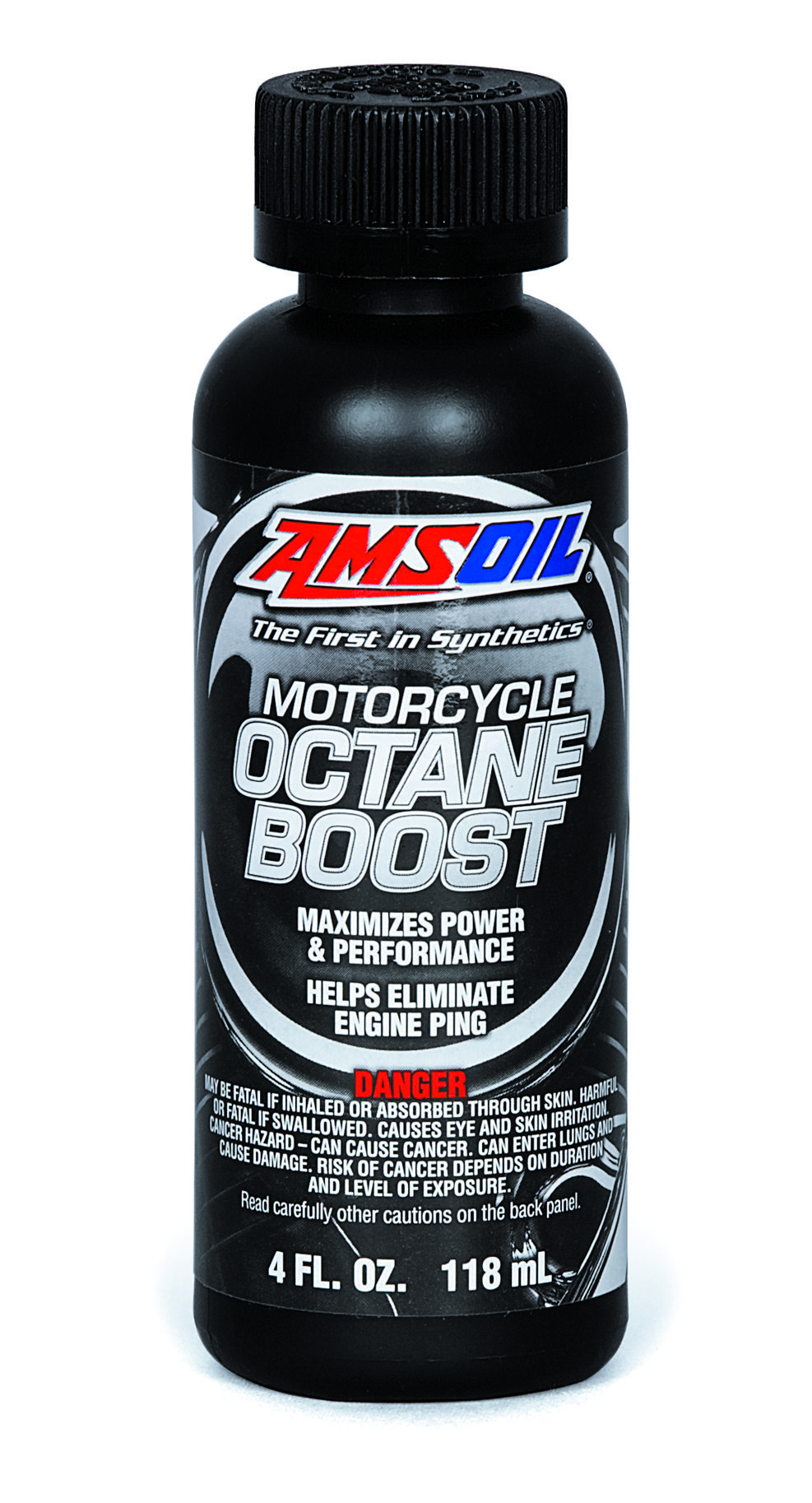 Amsoil Motorcycle Octane Boost. Increases octane for power