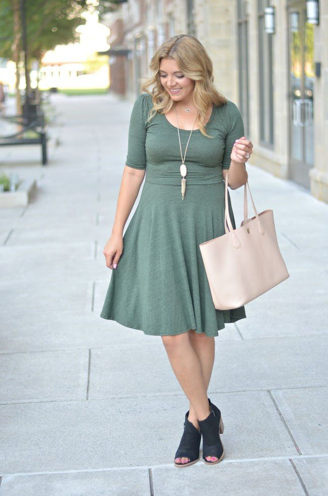 Lularoe Nicole Dress For Fall Fizz And Frosting