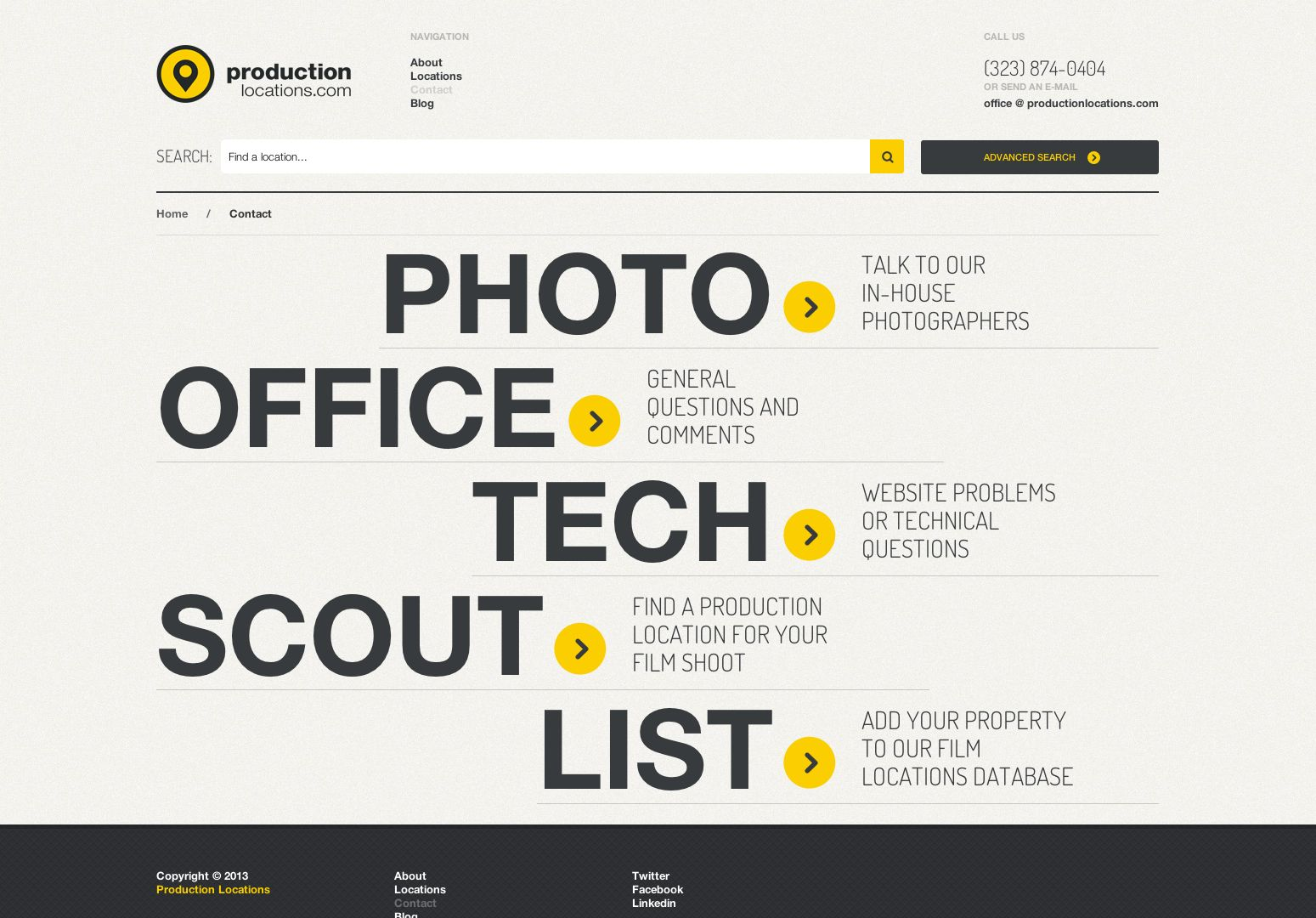 20 Best Designed Contact Pages