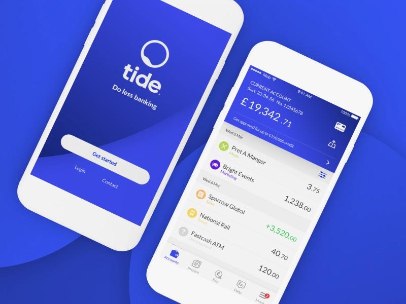 Tide Bank App Banking App Tide App