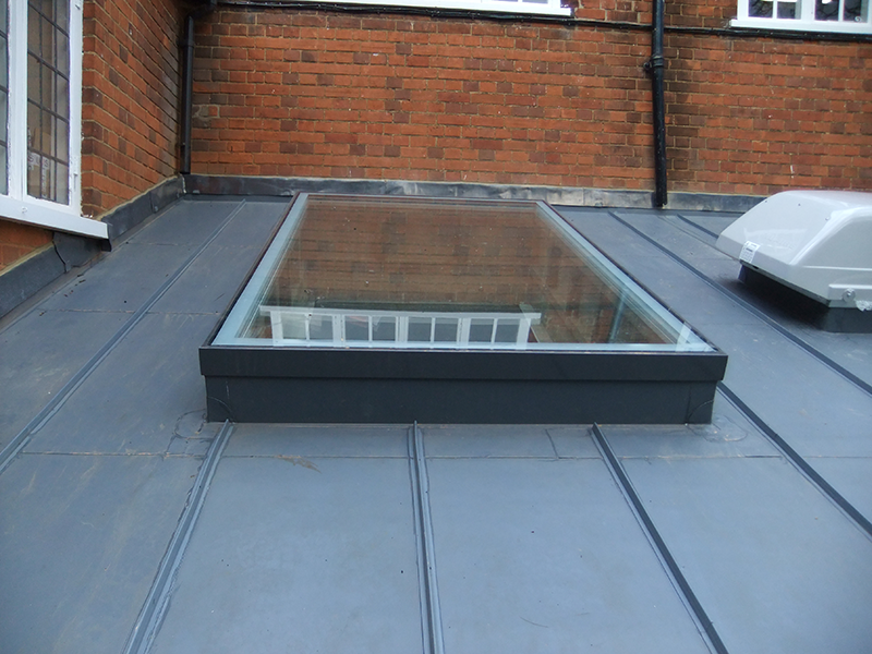 Upvc Window As Rooflight Google Search Flat Roof