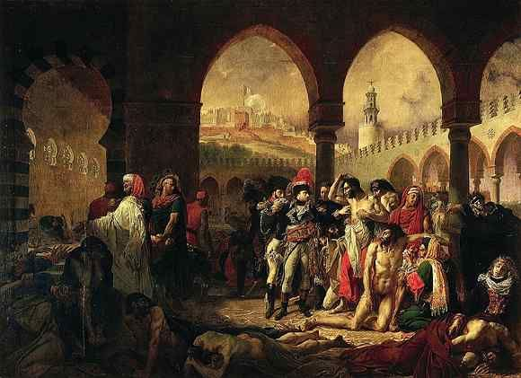 Antoine-Jean Gros, Napoleon In The Plague House At Jaffa ...