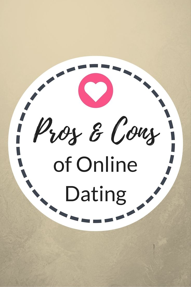 dating online pros and cons