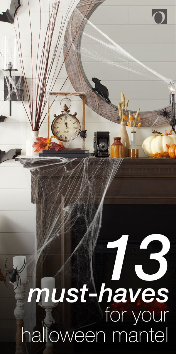 13 Must-Have Halloween Mantel Decorations - Overstock in 2018