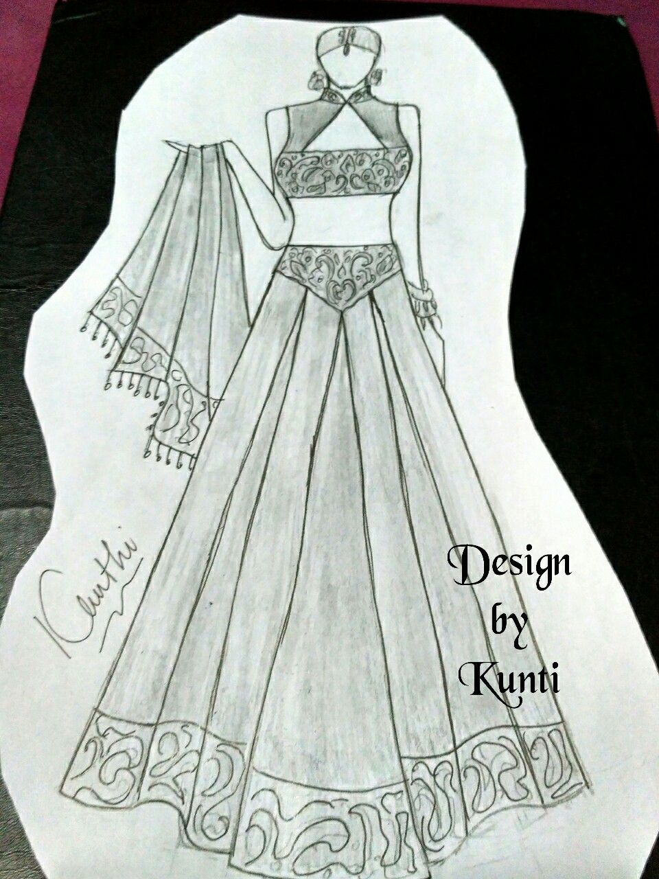 Indian Dress Dress Design Drawing Dress Sketches Fashion