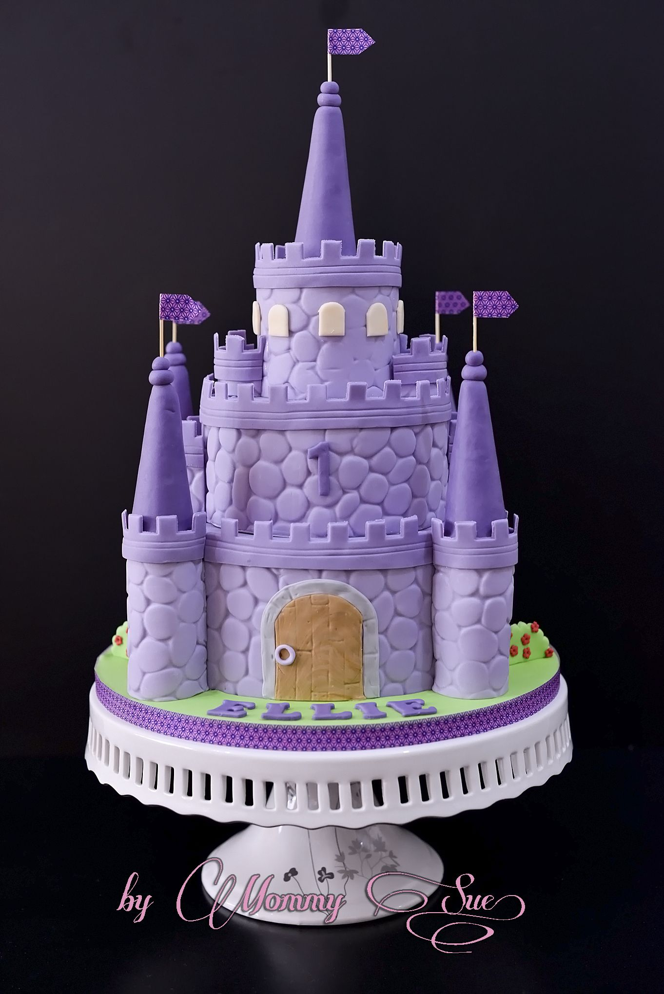 Sofia The First Castle Cake Birthday Cake For Girls Pinterest
