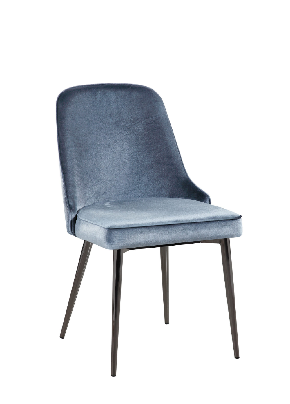 Scott Living Inslee Contemporary Blue Dining Chair Coaster Fine