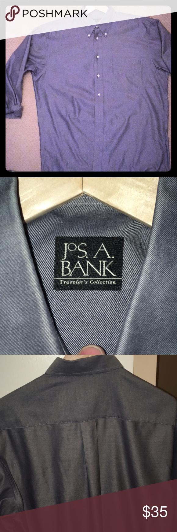 Jos a bank. LS 👔 shirt. Long sleeve shirt dress