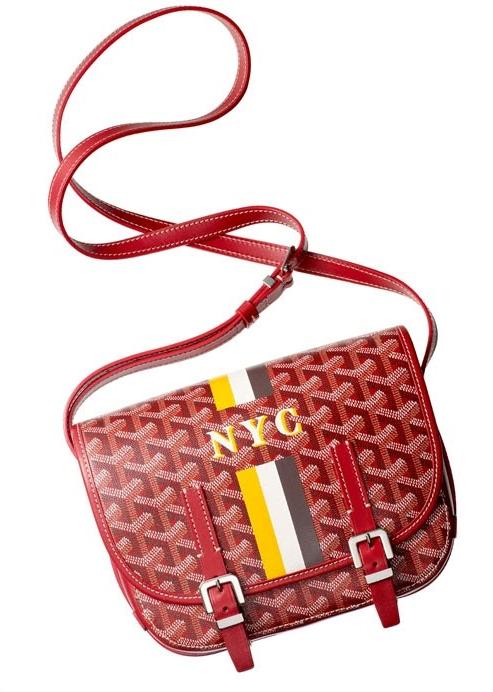 Bergdorf Goodman X Goyard Handbag Monogramming Event