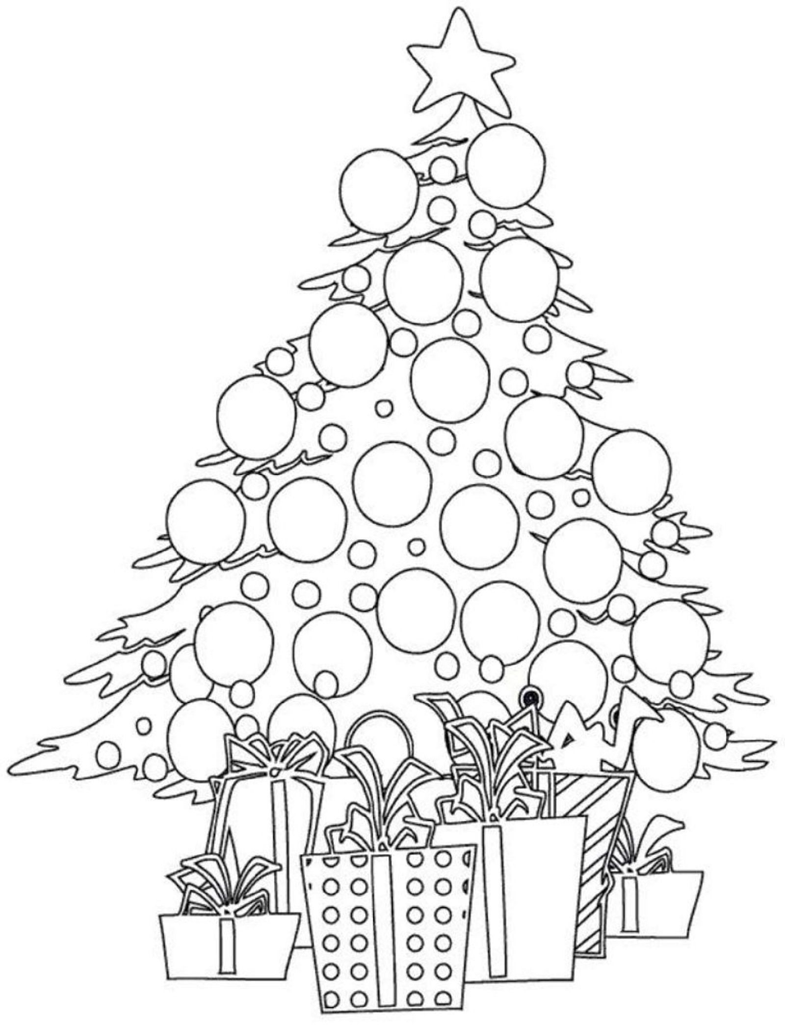 Fun Christmas Tree Lights Coloring Pages For Kindergarten Educative Printable Cool Christmas Trees Coloring Pages Christmas Fun