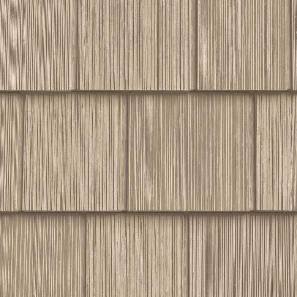 The Foundry 7in Vinyl Perfection Shingles 1 Square 112 Light Moss In 2020 Shingling Vinyl Shingle Siding Vinyl