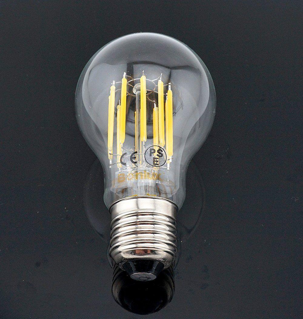 Bonlux 10w A19 Edison Style Vintage Led Filament Bulb Medium Screw E26 Base Neutral White 4000k Clear Glass Decorative Led Light Bulb Filament Bulb Light Bulb