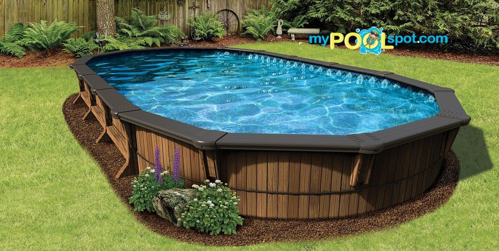 Buried Above Ground Pool With Images In Ground Pools Above Ground Pool Pool