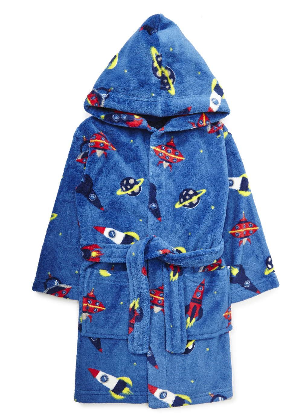 Boys Blue Space Rocket Dressing Gown | dino gummies | Pinterest ...
