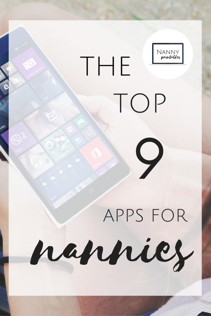 The Top 9 Apps For Nannies Nanny activities, Nanny