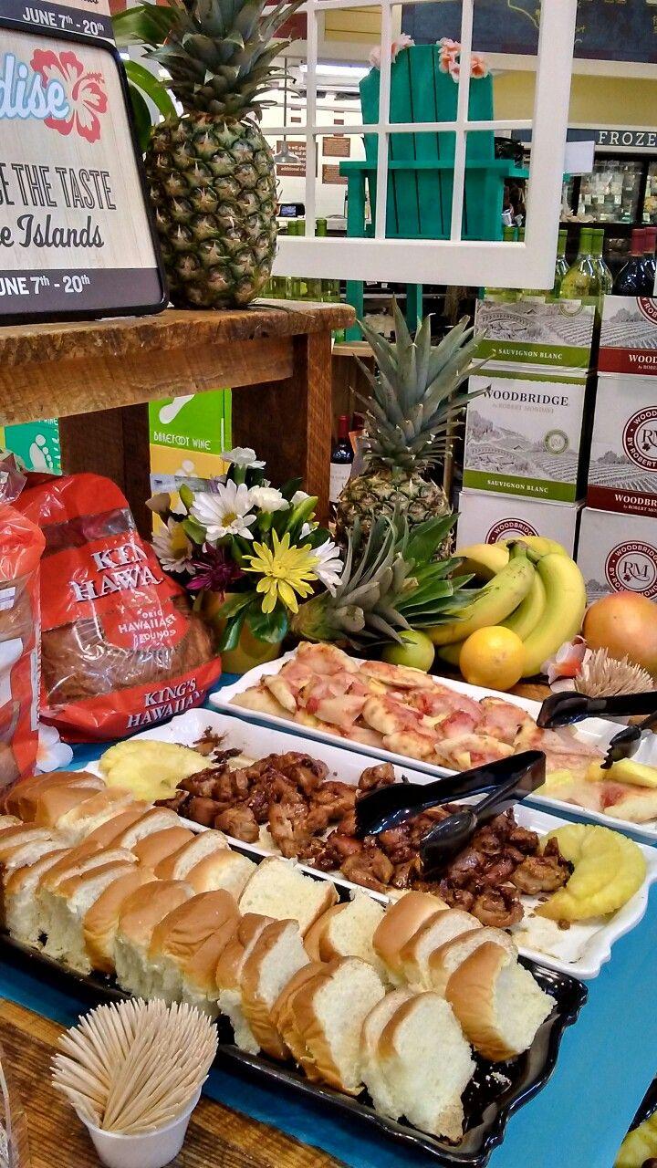Hawaiian luau buffet. Lowes food, Hawaiian luau, Food