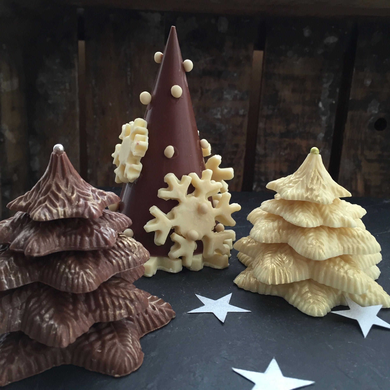 chocolade kerstbomen