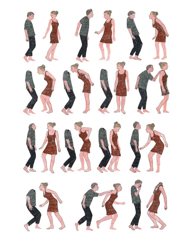 In Pieces: French Illustrator Marion Fayolle's Wordless Narratives About Human Relationships | Brain Pickings
