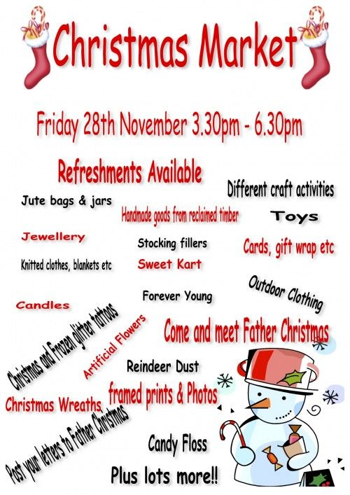 school christmas market posters - Google Search