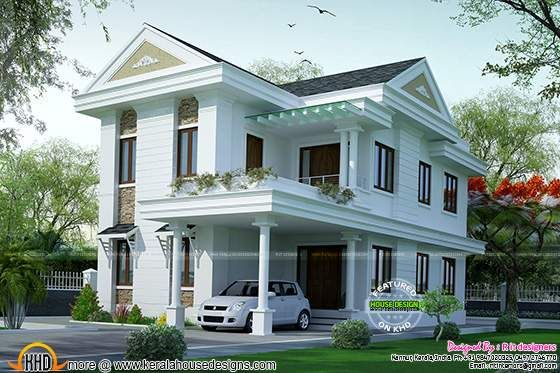 Kerala Home Design And Floor Plans 8000 Houses Kerala House Design Dream House Plans House Designs Exterior