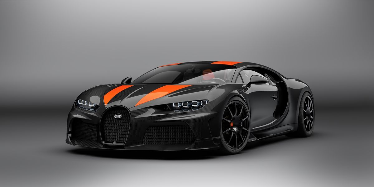 Bugatti Launches Limited Chiron Super Sport 300+, World's Fastest Production Car