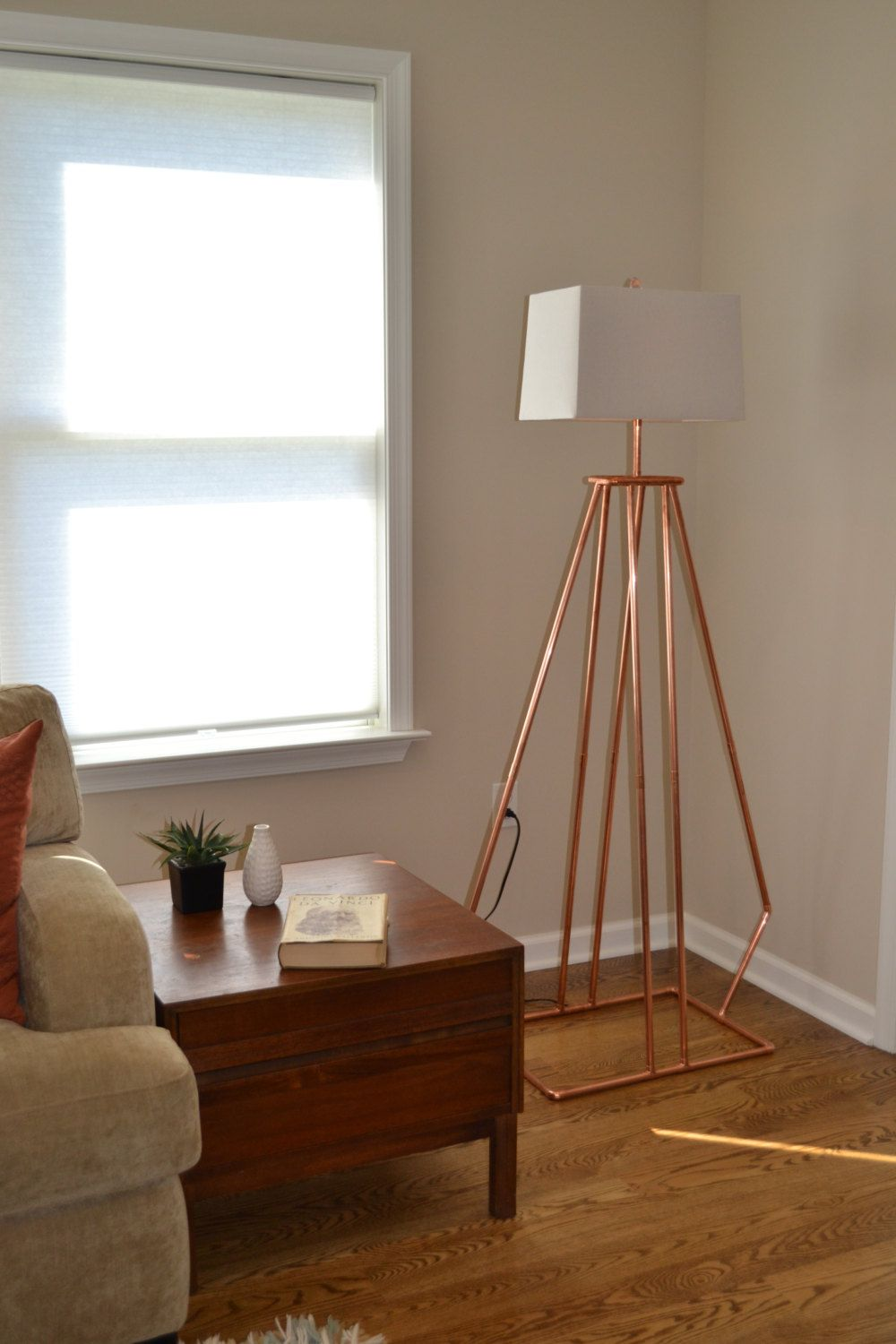 Copper tube pipe handmade wide angle floor lamp by copper tube pipe handmade wide angle floor lamp by atdcoppercreations mozeypictures Images